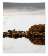 Lake Visitors Fleece Blanket