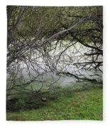 Lakeside View 1 Fleece Blanket