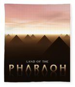 Land Of The Pharaoh Fleece Blanket