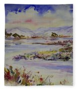 Landscape 5 Fleece Blanket