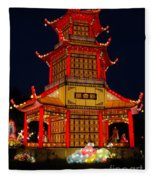 Lantern Lights Fleece Blanket