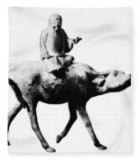 Lao-tzu (604-531 Bc) Fleece Blanket