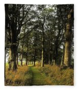 Larchill Arcadian Garden, County Fleece Blanket