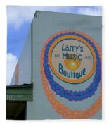 Larrys Music Boutique  Est 1952 Fleece Blanket