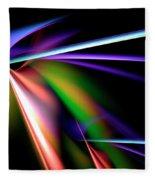 Laser Light Show Fleece Blanket