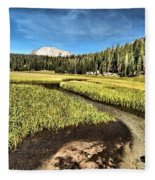 Lassen Meadows Fleece Blanket