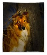Lassie Lookalike Fleece Blanket