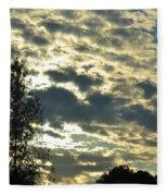 Last Light On Hallow's Eve 2012 Fleece Blanket