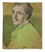 Laurence Eusden, English Poet Laureate Fleece Blanket