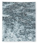 Lava Abstract Fleece Blanket