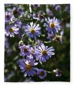 Lavender Ladies Fleece Blanket