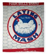 Laying Mash Fleece Blanket