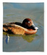 Lazy Duck Days Fleece Blanket
