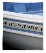 Le Petit Pierre II Fleece Blanket