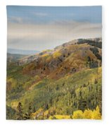 Lead King Basin Road 2 Fleece Blanket
