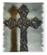 Lead Me To The Cross 1 Fleece Blanket