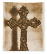 Lead Me To The Cross 2 Fleece Blanket
