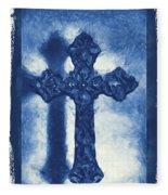 Lead Me To The Cross 3 Fleece Blanket