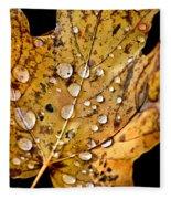 Leafwash Fleece Blanket