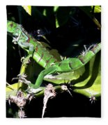 Leapin Lizards Fleece Blanket
