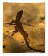 Leapin' Lizards Fleece Blanket