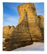 Learn Tower Of Monument Rocks Fleece Blanket
