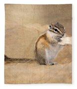Least Chipmunk Fleece Blanket