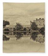 Leeds Castle Nostalgic Fleece Blanket