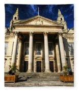 Leeds Civic Hall Fleece Blanket