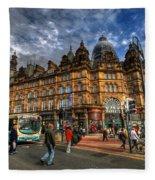 Leeds Kirkgate Market Fleece Blanket