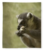 Lemur Fleece Blanket