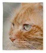 Leo The Kitty Beast Fleece Blanket