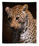 Leopard I Fleece Blanket