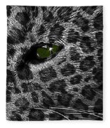 Leopard Within Fleece Blanket