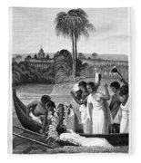 Leper, 1837 Fleece Blanket
