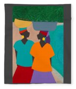 Les Femmes Fleece Blanket