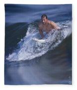 Let's Go Surfing Fleece Blanket
