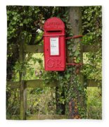 Letterbox In A Hedge Fleece Blanket