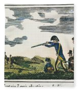 Lewis & Clark: Native American, 1811 Fleece Blanket