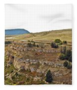 Lewis And Clark Park  Fleece Blanket