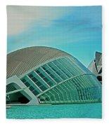L'hemisferic - Valencia Fleece Blanket