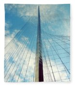Liberty Pole Fleece Blanket