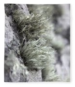 Lichen Niebla Podetiaforma Fleece Blanket