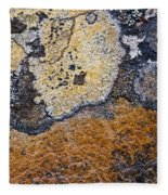 Lichen Pattern Series - 19 Fleece Blanket