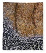 Lichen Pattern Series - 11 Fleece Blanket
