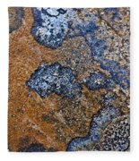 Lichen Pattern Series - 35 Fleece Blanket