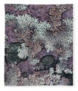 Lichen Pattern Series - 57 Fleece Blanket