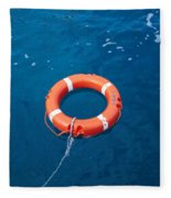 Life Buoy Fleece Blanket