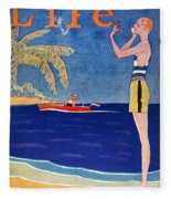 Life: Its A Girl, 1926 Fleece Blanket