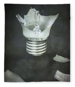 Light Bulb Fleece Blanket